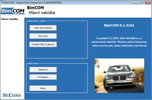 [BimCOM screenshot]