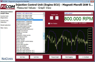 Fiat/Alfa/Lancia odometer correction (FiCOM module)